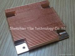 copper C1100 skiving heatsink