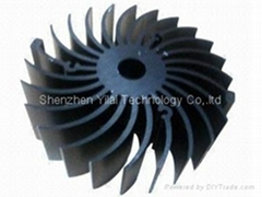 extruded aluminum led heatsink for LED cooling, led heatsink