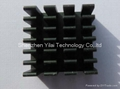 Black anodizing small BGA heatsink