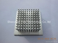 custom BGA heatsink with CNC milling
