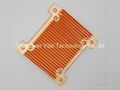 Custom copper heatsinks