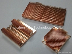Copper heatsinks from Shenzhen China