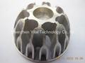 Cast aluminum lamp cup, 3w led blub cup.