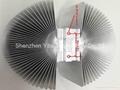 Large sunflower aluminum profile for high power street lighting led heatsink