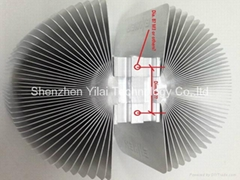 Large sunflower aluminum profile for high power street lighting led heatsink