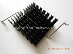 Clip heatsink used in computer or laptop made in China heatsink factory