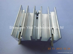 TO-220 thermal resistance, silver anodizing two holes TO-220 heat sink