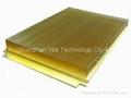Large AL6063-T5 heatsink with CNC