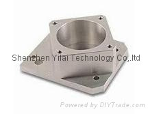 CNC machined parts customed by turning, drilling, milling, tapping process