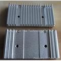 Aluminum extruded heatsinks provide a