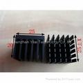 Extruded aluminum 25*25*20mm heat sinks