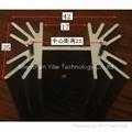 Audio amplifer heatsink is assembled by