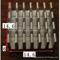 Cross cutting heatsink 14.6*14.6*6mm