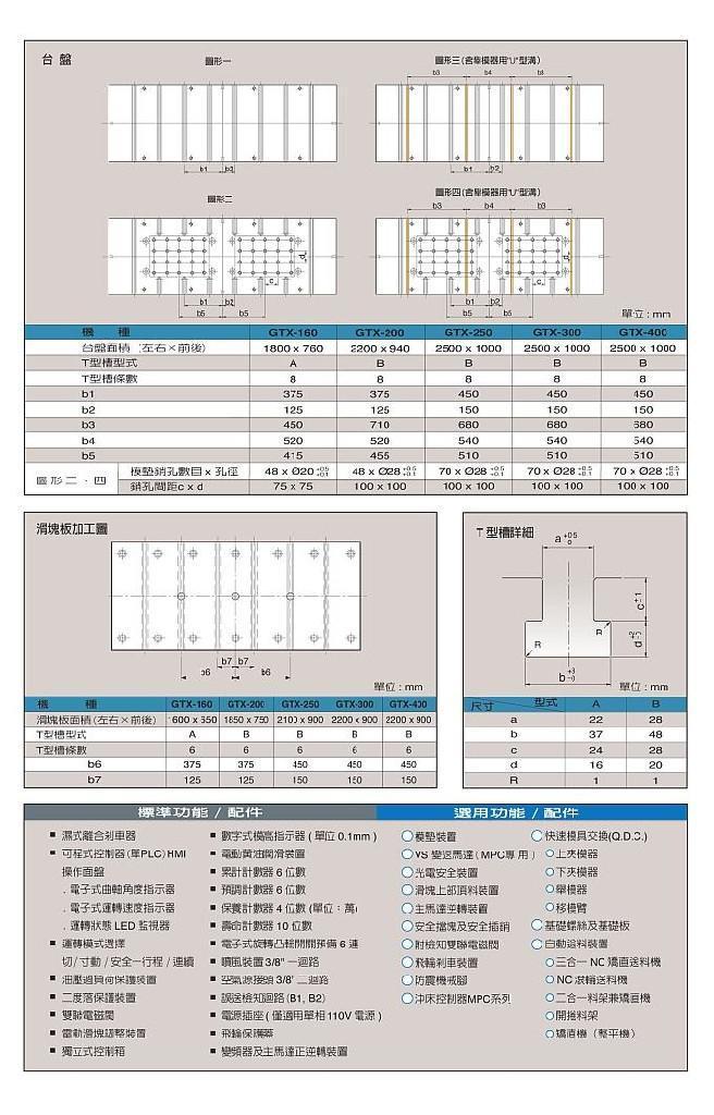 寧波金豐沖床 GTX系列 3