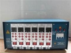 供應批發模具專用熱流道溫控箱6點智能溫控器