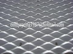 Curtain wall aluminum expanded metal mesh panel