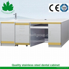 SSC-02 stainless steel pharmacy cabinet for dentist furniture