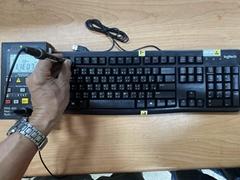 抗静电键盘滑鼠组 - 摩擦起电电压小于35V