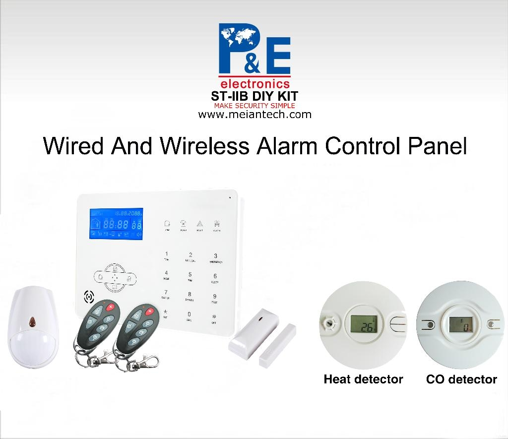 home security products gsm home alarm system st iiib p amp e focus meian china 417