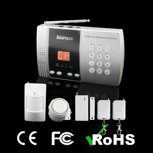 Auto-Dial Wireless Alarm System Intelligent English Voice Operate 1