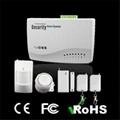 Smart burglar alarm system - GSM home