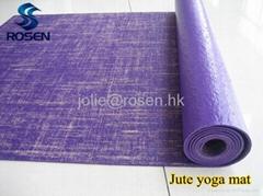 2013 hot! Eco-friendly Jute yoga mat