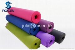 Top quality natural rubber yoga mat