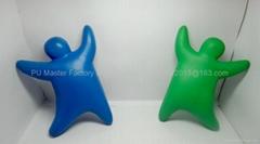 small MOQ high quanlity foaming balls with custom logos