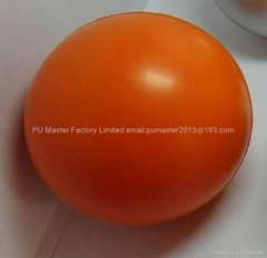 polyurethane foaming poof balls stress ball items with custom logo available