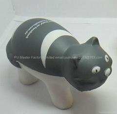 hig density polyurethane foaming stress ball  promotional gift small MOQ