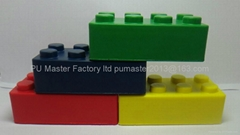 stress lego custom stress balls factory in China manufactorur exporter