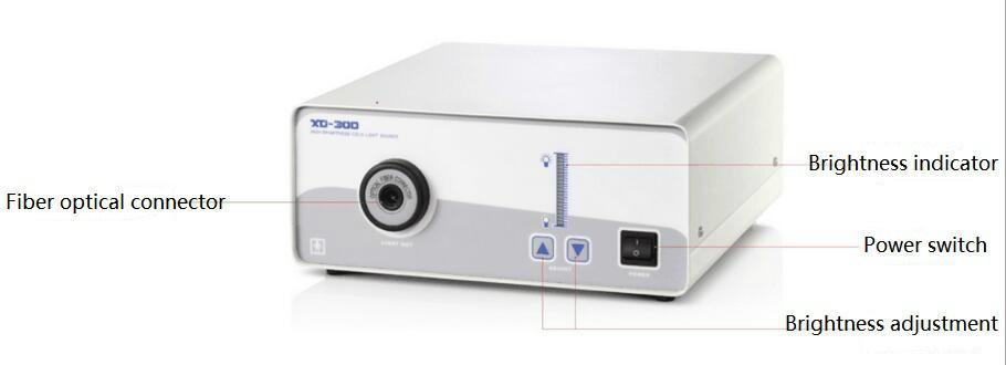 Xenon Fiber Cold Light Source with Fiber Optic Cable 3