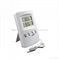 All In One Alarm Baby Room Thermometer with Humidity Monitor