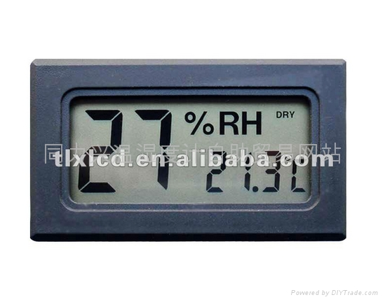 Small Digital Thermometer Black / Small Size 1