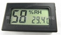 Small Digital Thermometer Black / Small Size 2