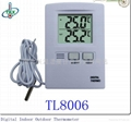 Big Digit Wired Indoor/Outdoor Thermometer