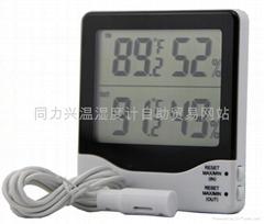 数显室内室外温湿度计
