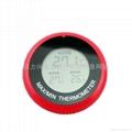 Max Min Suction Cup Fish Tank/ Fridge Thermometer Sticker 2