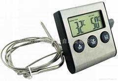 磁铁烤肉食品厨房温度计和计时器
