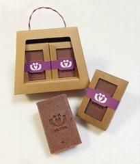 HERDS lotus handmade soap gift set