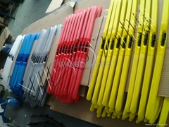 colorful wiper blade for car