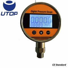 UIY8 all stainless steel housing digital pressure gauge