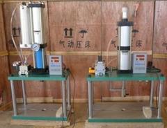生产3吨气液增压冲床,四柱式气液增压冲床