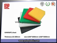 Wear resistant UHMWPE sheet for marine fenders