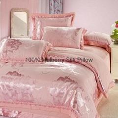 Silk Duvet Cover&Silk Sh