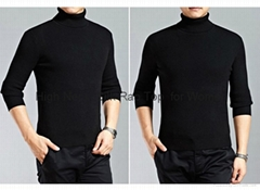 High Collar Silk 2x2 or 4x4 Rap Top  for Men