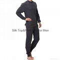 Silk Top&Pant Sets for Men