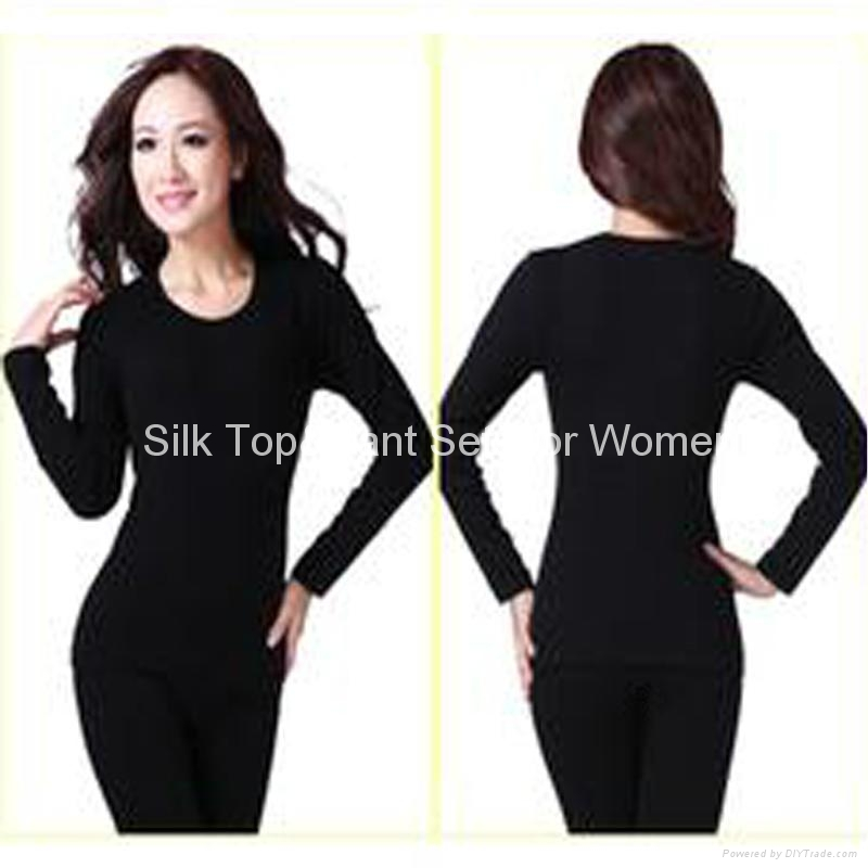 Silk Top&Pant Sets for Women 2