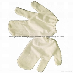 ayurvedic garshana 100% raw silk dry massage gloves  (Hot Product - 1*)