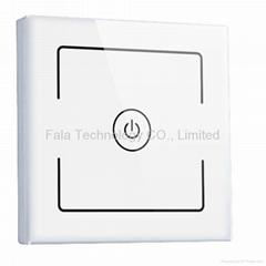 One Gang Wall Switch Of WiFi Home Automation System Control By iPhone/Android